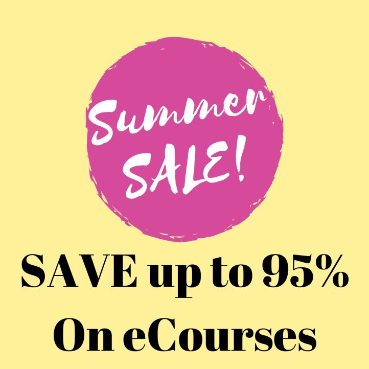 ☀️ SUMMER SALE on Hypnotherapy eCourses – SAVE up to 95